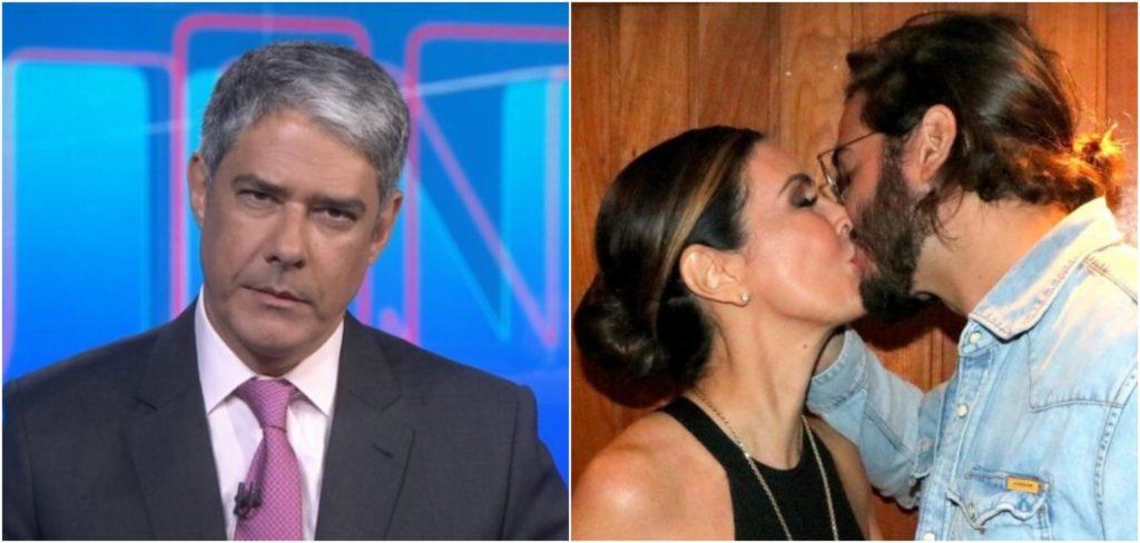 William Bonner é o ex-marido de Fátima Bernardes, atual namorada de Túlio Gadêlha (Reprodução)
