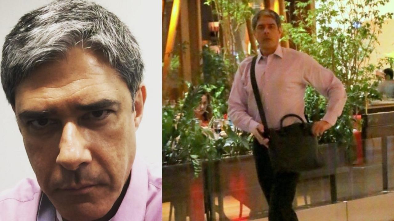 William Bonner acabou sendo alvo de ameaças de funcionários da Globo (Foto: Reprodução/Instagram/AgNews/Montagem TV Foco)