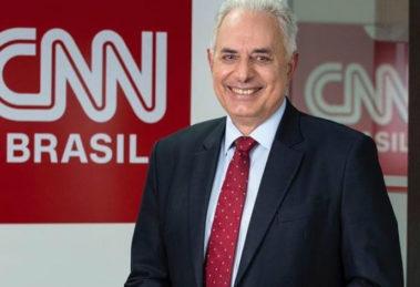 O jornalista William Waack comanda o Jornal da CNN - Foto: Divulgação