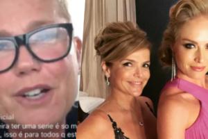 Xuxa entregou que irmã de Angélica está doente (Foto montagem: TV Foco)