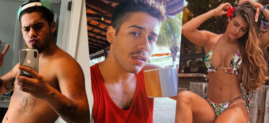 O cantor Zé Felipe, filho de Leonardo, após escândalo gay, deu o que falar em chuveiro (Foto montagem)