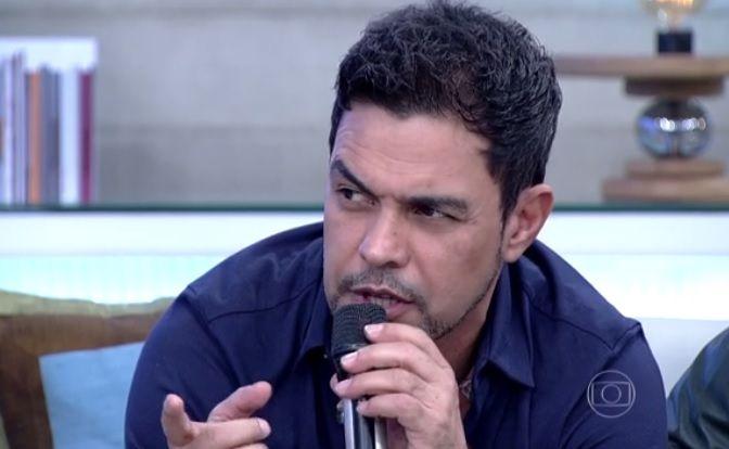 Zezé Di Camargo foi criticado por foto ao lado de João Doria (Reprodução)