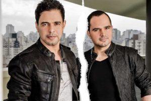 Zezé Di Camargo forma dupla de sucesso com o irmão, Luciano Camargo (Reprodução)
