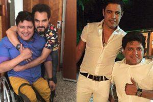 Zezé Di Camargo e Luciano com Wellington Camargo (Foto: Reprodução/Instagram/Montagem TV Foco)