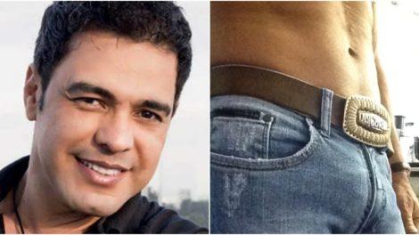 Zezé Di Camargo já disse ter o pênis maior que o de Brad Pitt (Reprodução)