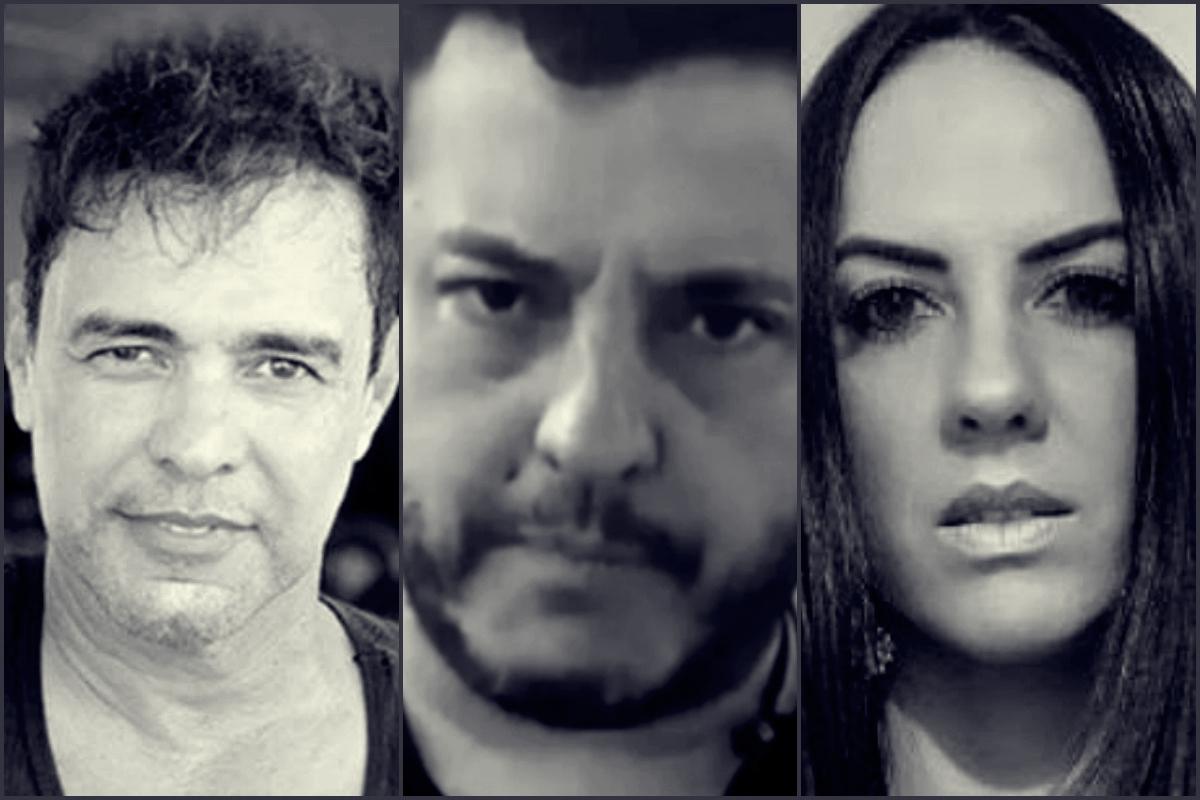 Zezé Di Camargo, Bruno e Graciele Lacerda (Foto: Reprodução)