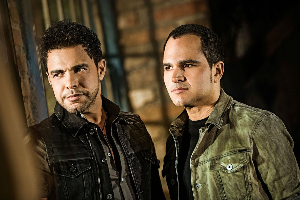 Zezé Di Camargo e Luciano formam uma dupla sertaneja (Foto: Reprodução)