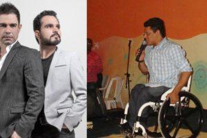 Zezé Di Camargo e Luciano e o irmão, Wellington Camargo (Foto: Divulgação/YouTube/Montagem TV Foco)