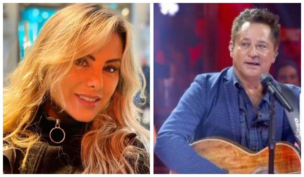 Poliana Rocha e Leonardo (Foto: Reprodução)