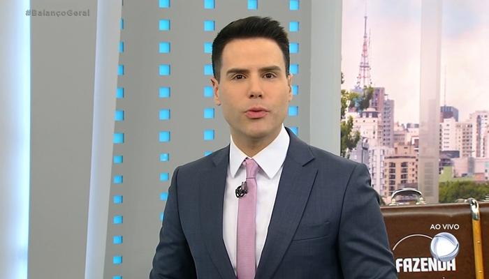 Luiz Bacci no Cidade Alerta (Foto: Reprodução/Record)