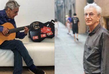 Cantor e compositor Caetano Veloso diz não achar presente de Preta Gil horrível (Foto: Reprodução/Instagram)