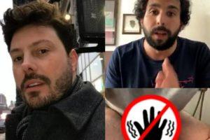 Danilo Gentili ousou durante live com Murilo Couto no Instagram (Foto: Montagem)