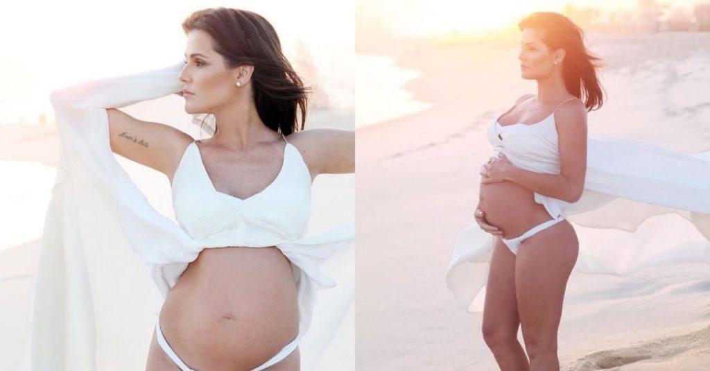 Deborah Secco compara gravidez com isolamento social (Foto: Reprodução/Instagram)