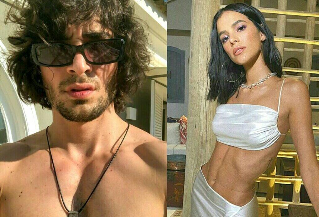 O ator, cantor e filho do Fábio Júnior, Fiuk, publicou uma foto romântica ao lado de Bruna Marquezine e web vai a loucura. (Imagem: Divulgação)