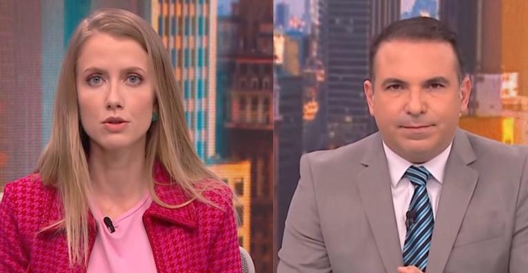 Gabriela Prioli e Reinaldo Gottino na CNN Brasil (Foto: Montagem)