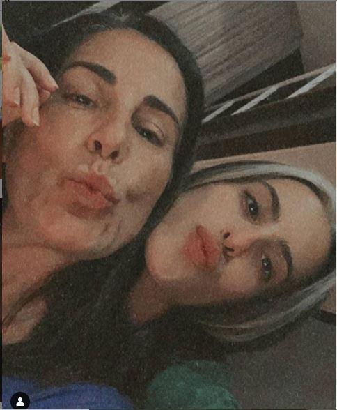 Glória Pires e Ana Morais (Foto: Reprodução)