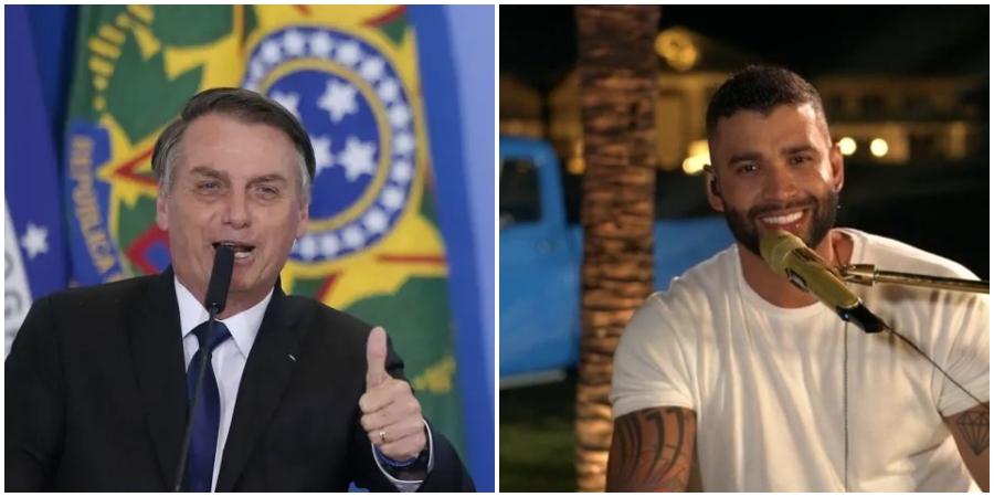 Apoiador de Bolsonaro, Gusttavo Lima defendeu liberação de cloroquina