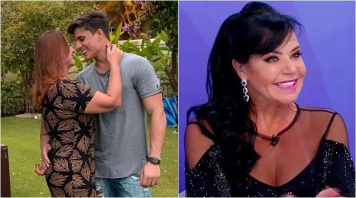 Tiago Ramos, novo namorado de Nadine Gonçalves, já se declarou para Flor. (Foto: Montagem/Reprodução)