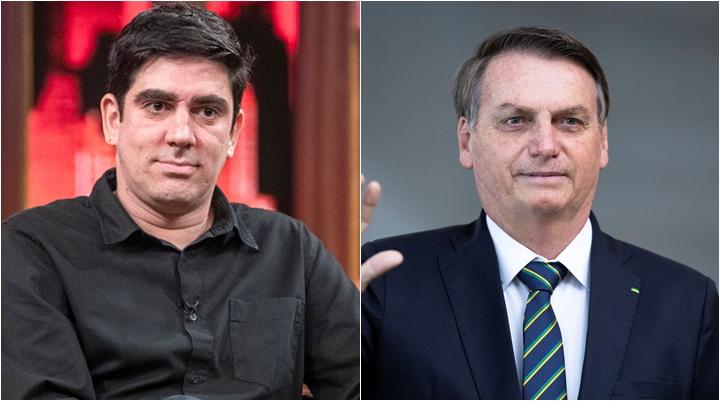 Marcelo Adnet fez paródia criticando Bolsonaro. (Foto: Montagem/Divulgação)