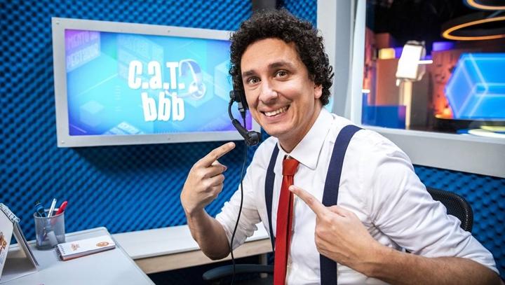 Rafael Portugal é destaque em quadro de humor do BBB20. (Foto: Divulgação)