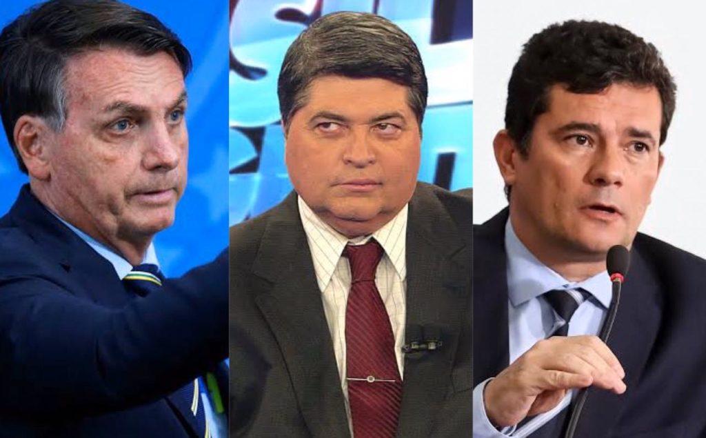 Jair Bolsonaro, Datena, Sergio Moro