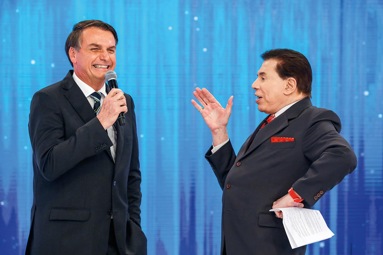 Jair Bolsonaro, Silvio Santos
