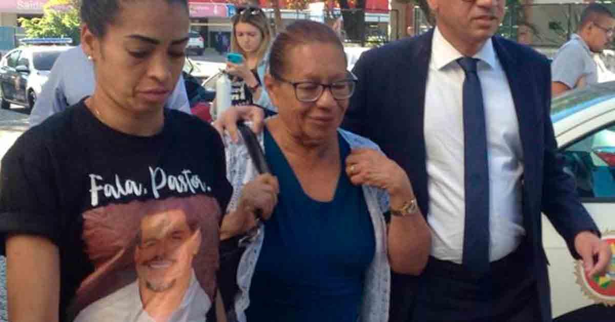 Mãe de Anderson do Carmo morreu após sofrer infarto (Foto: Reprodução)