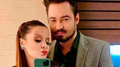 Maiara não teve vergonha e pediu Fernando Zor em casamento via rede social (Foto: Reprodução)