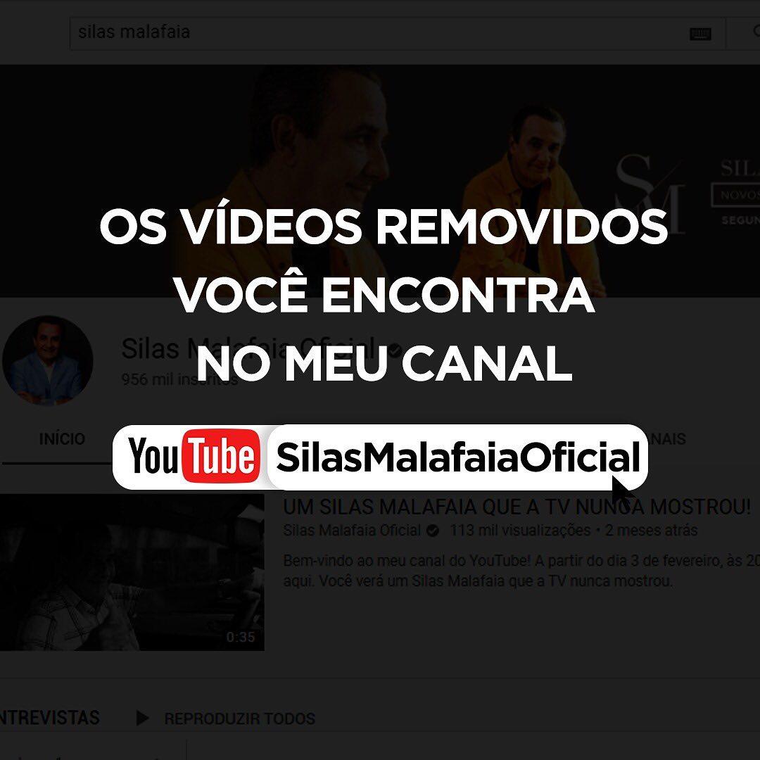 Silas Malafaia recebeu severa punição e teve vídeos removidos do Instagram