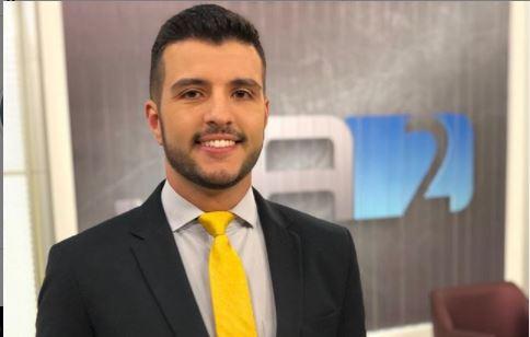 Âncora Matheus Ribeiro (Foto: Reprodução)