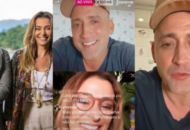 Em live feita no instagram, Paulo Gustavo fala sobre passado amoroso (Foto: Reprodução/Instagram)