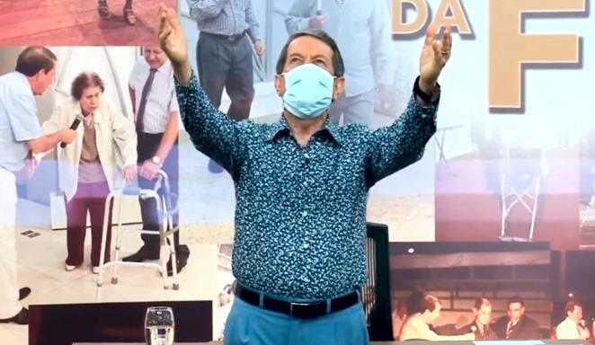 RR Soares ensina oração para curar o coronavírus (Foto: Reprodução)