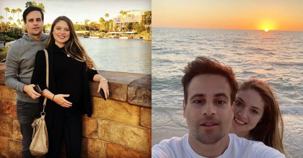 Nasce filha de Rodrigo Scarpa, o Repórter Vesgo (Foto: Reprodução/Instagram)