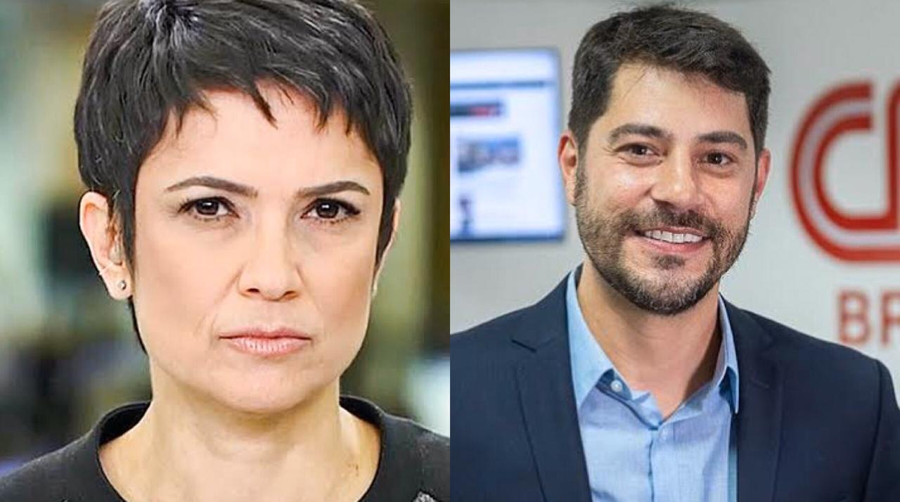Sandra Annenberg, Evaristo Costa