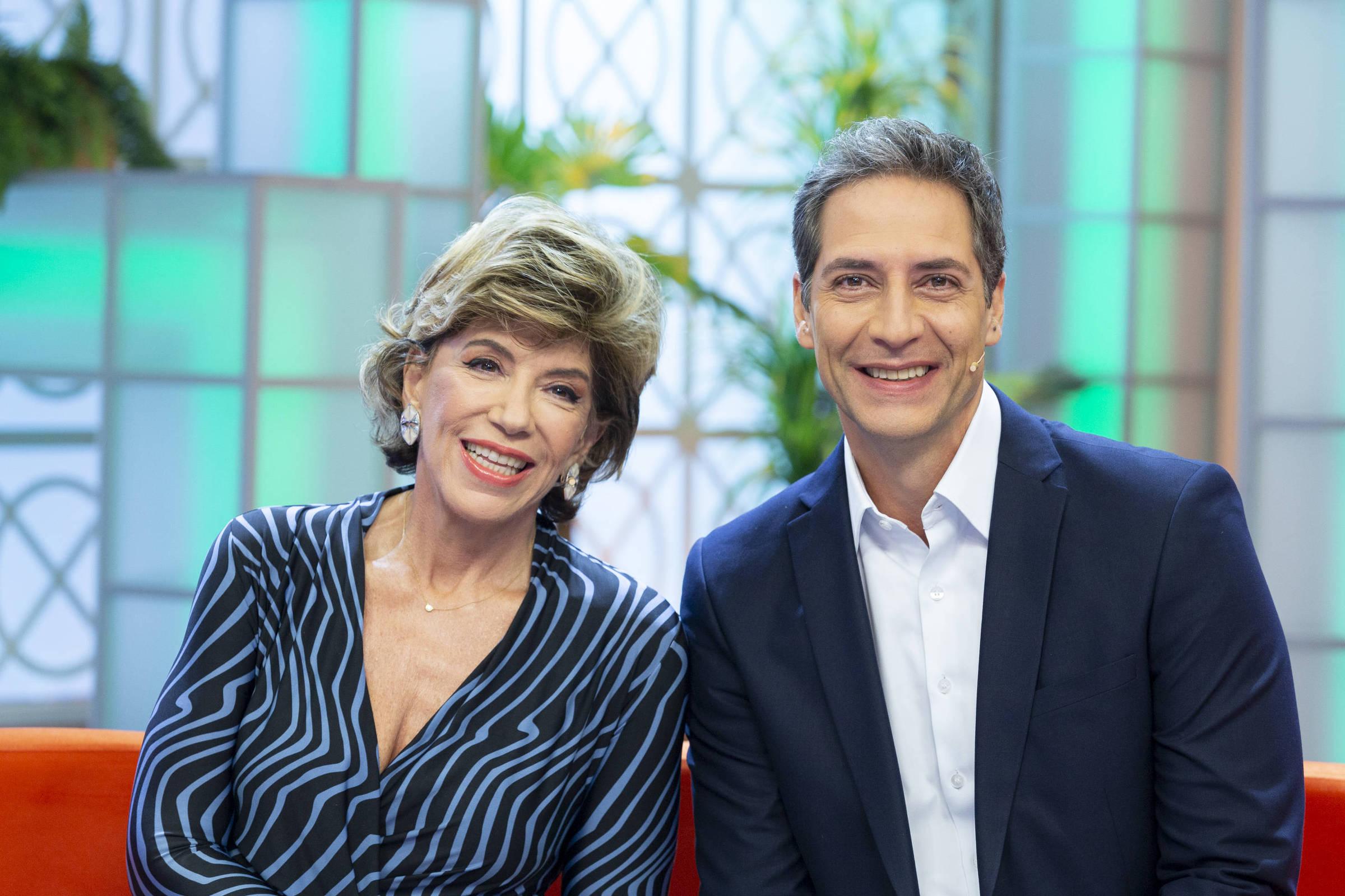 Silvia Poppovic e Luís Ernesto Lacombe