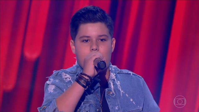Tuca Andrade participou do The Voice Kids e foi assassinado (Foto: Divulgação)