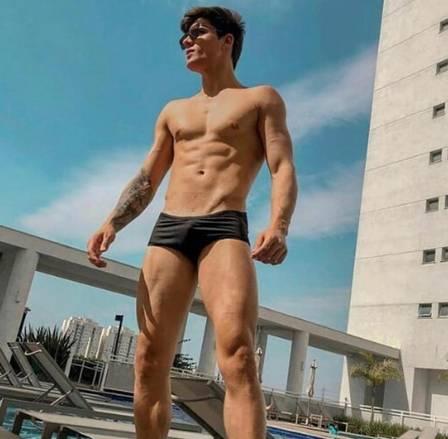 Tiago Ramos é modelo e jogador de futebol Foto- Reprodução:Instagram
