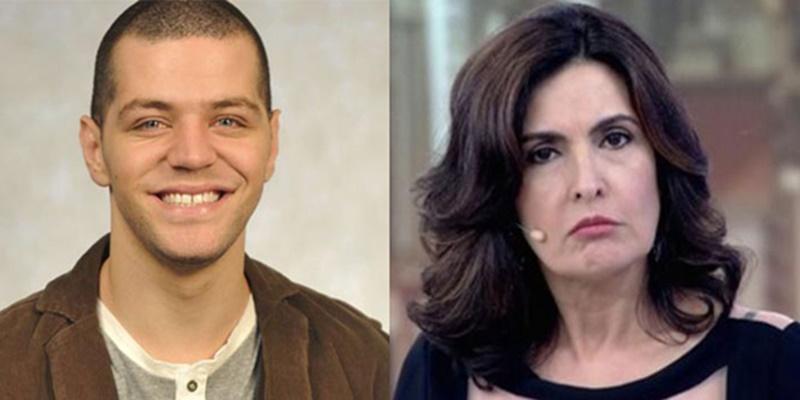 Victor Sarro fez parte do Encontro logo no começo do programa na Globo (Foto: Montagem)
