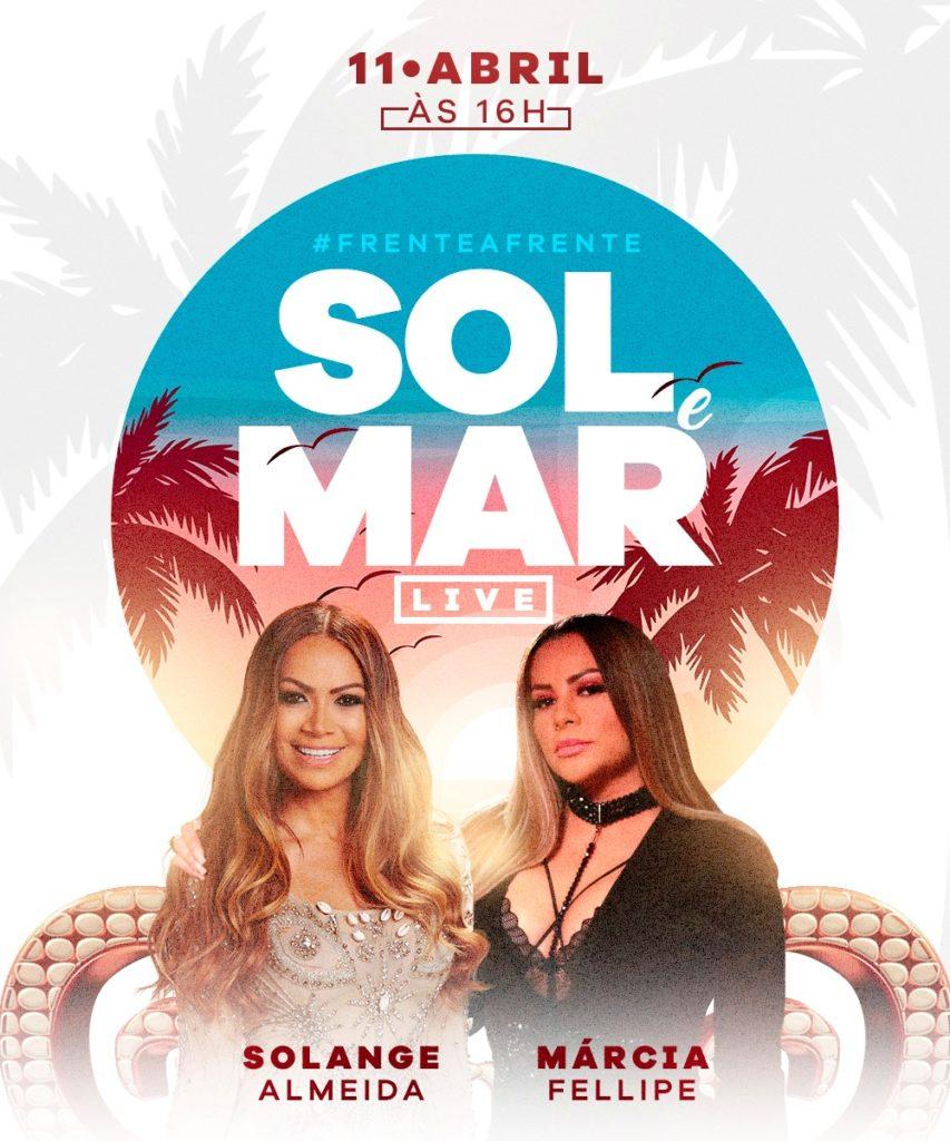 Márcia Fellipe e Solange Almeida se apresentarão juntas em Fortaleza(Foto: Divulgação)