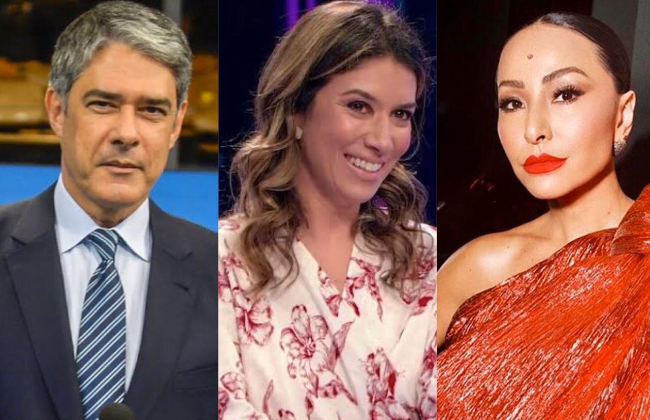 William Bonner, Rebeca Abravanel, Sabrina Sato