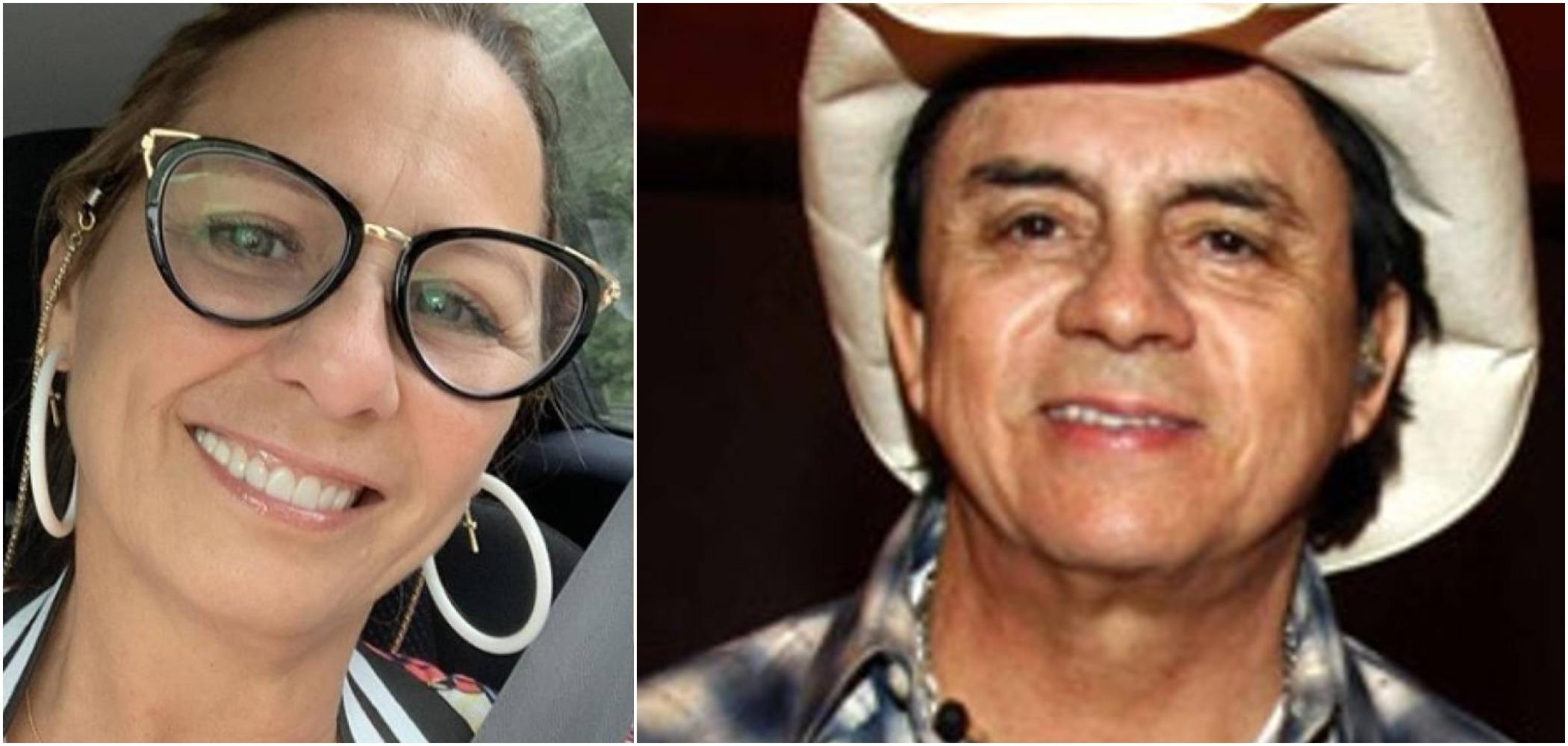 Adenair Lima e Chitãozinho foram casados por anos (Reprodução)
