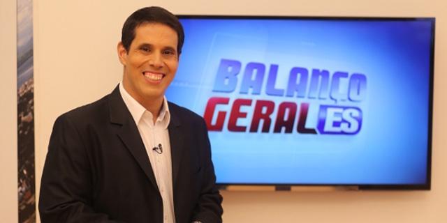 apresentador do Balanço Geral local, Amaro Rocha Nascimento Neto (Foto: Divulgação)