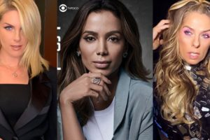Anitta, Ana Hickmann, Adriana Galisteu