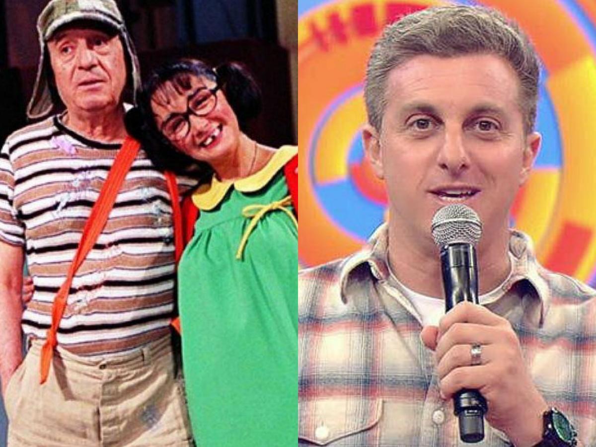 Audiência da TV deste sábado, 11 de abril: Chaves faz SBT arrebentar, Globo explode e Caldeirão do Luck deixa concorrentes na pior (Foto: Reprodução/Montagem TV Foco)