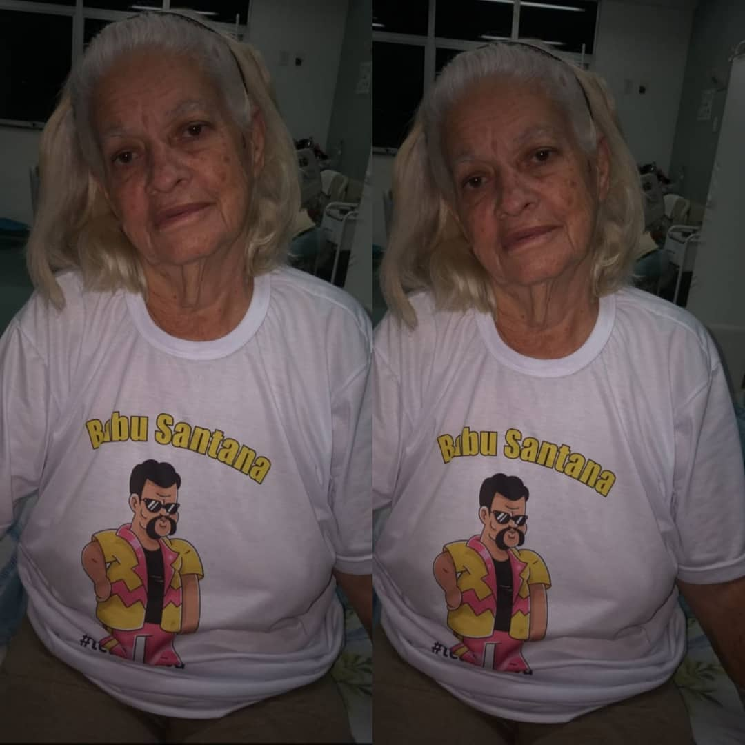 Dona Nilza, avó de Babu, morreu vítima de câncer (Reprodução)