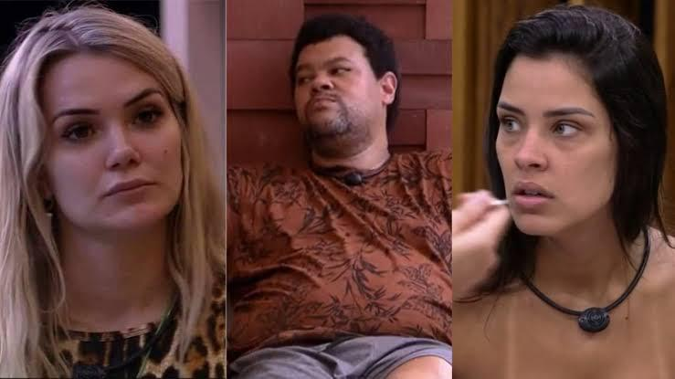 Marcela, Babu e Ivy no BBB20 (Foto: Reprodução / TV Globo)