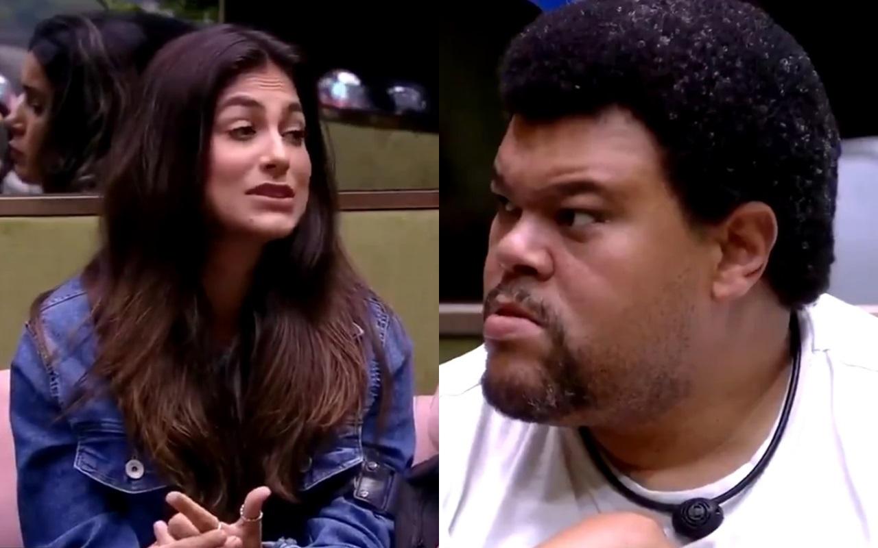 BBB20: Babu e Mari discutem no jogo da discórdia (Foto: reprodução/Globoplay)