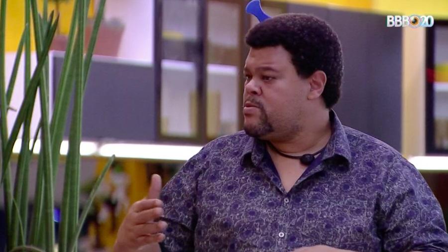 BBB20: Babu reclamou do voto de Thelma (Foto: reprodução/Globoplay)