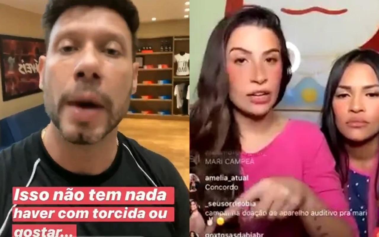 BBB20: O coach de Rafa mandou um recado para Flayslane e Bianca Andrade (Foto: reprodução/Instagram)