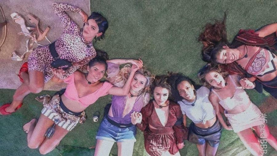 Gizelly e Marcela racharam de vez a comunidade hippie - Foto: Reprodução